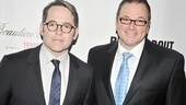 Tony winner Matthew Broderick poses with pal and Producers co-star Jim Borstelmann.