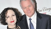 Addams Family star Bebe Neuwirth cozies up for a photo with husband Chris Calkins.