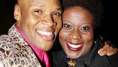 Michael James Scott goes cheek to cheek with Broadway veteran Capathia Jenkins.