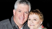Billy's proud papa and Grandma, Gregory Jbara and Carole Shelley, pop some Champagne to celebrate their show.