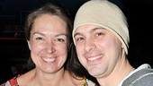 Talented Other Desert Cities co-stars Elizabeth Marvel and Thomas Sadoski, celebrate their nominations, two of the show's five. Congrats, guys!