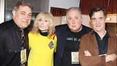 Lombardi couple Dan Lauria and Judith Light chat up fellow Easter Bonnet presenters Rob Bartlett and Roger Rees.