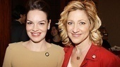 How to Succeed's Tammy Blanchard snaps a shot with Edie Falco.