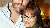 Patti LuPone and Idina Menzel at <i>The Normal Heart</i> - John Benjamin Hickey – Patti LuPone