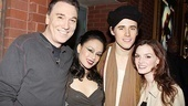 Welcome back! Patrick Page, T.V. Carpio, Reeve Carney and Jennifer Damiano are excited for audiences to take in the revamped Spider-Man. Be sure to swing into the Foxwoods Theatre today!