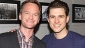 Harris wasn't shy sharing his thoughts on Catch Me star Aaron Tveit via Twitter, calling the actor
