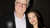 How to Succeed's John Larroquette is pleased to have his onstage sweetheart Tammy Blanchard (a 2003 Theatre World Award recipient) by his side.