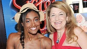 Sister Act 100th performance  Patina Miller  Victoria Clark 