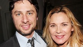 She became a New York icon on Sex and the City, and Kim Cattrall (headed to Broadway in Private Lives) couldn't be happier to lend her star power to Zach Braff's playwriting debut.