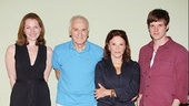 Meet the Lyons family: Kate Jennings Grant, Dick Latessa, Linda Lavin and Michael Esper.