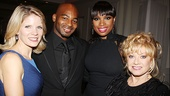 Tony nominee Kelli O&#39;Hara, Brandon Victor Dixon, Jennifer Hudson and Follies&#39; Elaine Paige are on hand to serve as performers and presenters. 