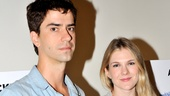 Seminar Meet and Greet  Lily Rabe  Hamish Linklater