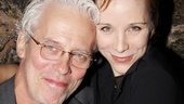 Broadway couple Terrence Mann and Charlotte d'Amboise enjoy a night out on the town and at the theater.