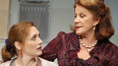 Kate Jennings Grant as Lisa and Linda Lavin as Rita in The Lyons.