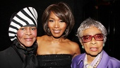 The Mountaintop's Angela Bassett finds herself between two living acting legends Cicely Tyson (who portrayed Coretta Scott King in the 1978 mini-series King) and Ruby Dee.