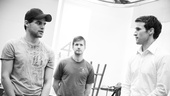 &lt;i&gt;Bonnie &amp; Clyde&lt;/i&gt; Rehearsal -   Jeremy Jordan  Matt Lutz  Claybourne Elder 