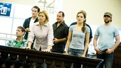 <i>Bonnie & Clyde</i> Rehearsal - Laura Osnes