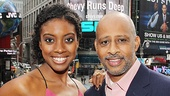 &lt;i&gt;Stick Fly&lt;/i&gt; Meet and Greet  Condola Rashad  Ruben Santiago-Hudson