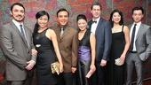 <i>Chinglish</i> Opening Night – Stephen Pucci – Angela Lin – Larry Lei Zhang – Jennifer Lim – Gary Wilmes – Christine Lin - Johnny Wu