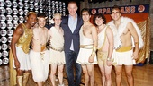 NBA Hall of Famer Chris Mullin is thrilled to reunite with the men of Lysistrata Jones: Ato Blankson Wood,  Jason Tam, Alex Wyse, Alexander Aguilar, Teddy Toye and Josh Segarra.