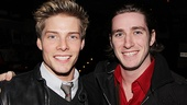 Boys night out!Godspell star Hunter Parrish brought his best guy pal, dancer/choreographer J.C. Shuester out to enjoy the festivities.
