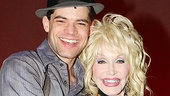 Dolly Parton at Bonnie &amp; Clyde - Jeremy Jordan  Dolly Parton 