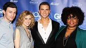 Stars Bryce Pinkham, Caissie Levy, Richard Fleeshman and DaVine Joy Randolph cant wait to bring Ghost to a Broadway audience. 