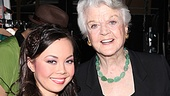 Angela Lansbury Backstage at Godspell  Angela Lansbury - Anna Maria Perez de Tagle