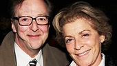 Actor Edward Hibbert came out to support his good friend Suzanne Bertish for Wit's Broadway debut.