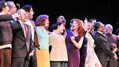 Merrily We Roll Along- Ann Morrison,  Elizabeth Stanley, Betsy Wolfe, Lin-Manuel Miranda, Celia Keenan-Bolger and Colin Donnell