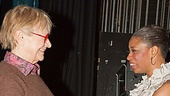 Estelle Parsons Backstage at Memphis – Estelle Parson – Montego Glover