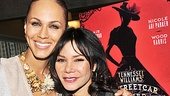 Broadway newcomer Nicole Ari Parker is excited to share a stage with Tony nominee Daphne Rubin-Vega, who plays her sister, Stella Kowalski.