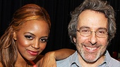 Krystal Joy Brown knows she can always lean on Leap of Faith book writer, Tony winner Warren Leight.