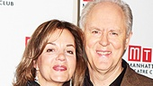 As Susan and Joseph Alsop in The Columnist, Margaret Colin and John Lithgow share the love. See them soon on stage at the Samuel J. Friedman Theatre!