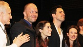 Once opening night David Patrick Kelly - John Tiffany  Cristin Milioti  Steve Kazee  Elizabeth A. Davis