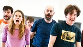 Peter and the Starcatcher Rehearsal – The Company sings out