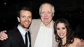 Lyricist Tim Rice can't hide the pride he feels for his latest Jesus and Mary Magdalene, Paul Nolan and Chilina Kennedy.