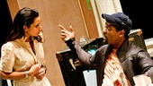 Streetcar Named Desire rehearsal  Daphne Rubin-Vega  Blair Underwood