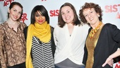 Raven-Symoné is happy to have her sisters—Marla Mindelle, Sarah Bolt and Audrie Neenan—by her side on opening night.