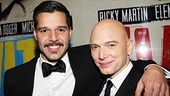 Evita&#39;s leading men Ricky Martin and Michael Cerveris are elated to star in the first Broadway revival.