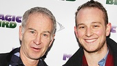 Magic.Bird Opening Night  John McEnroe  Kevin McEnroe