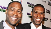 Magic.Bird Opening Night  Kevin Daniels  Robert Manning, Jr. 
