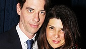 Peter and the Starcatcher Opening Night  Christian Borle  Marisa Tomei 