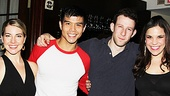 Corbin Bleu Godspell Opening Night – Morgan James - Telly Leung -Nick Blaemire - Lindsay Mendez
