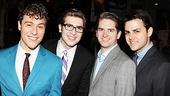 One Man, Two Guvnors opening night – Jason Rabinowitz – Charlie Rosen – Austin Moorhead – Jacob Colin Cohen