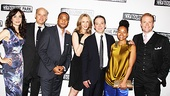 Annie Parisse, Frank Wood, Damon Gupton, Christina Kirk, Jeremy Shamos, Crystal A. Dickinson and Brendan Griffin are a tight ensemble off stage as well as on.