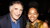 Clybourne Park Opening Night  Judd Hirsch  Crystal A. Dickinson 