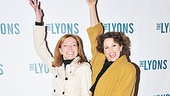 Tony-winning Broadway besties Julie White and Cady Huffman (Dick Latessa's castmate in The Will Rogers Follies) manage to steal the spotlight on the red carpet. Looking fabulous ladies!