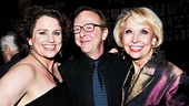 Only at Sardi's can you find Cady Huffman, Edward Hibbert and Julie Halston sharing a laugh.