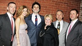 Ghost Opening Night  Caissie Levy and family 